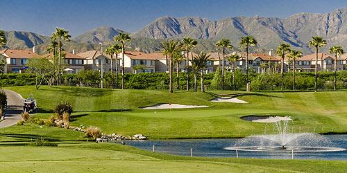 Sierra Lakes Golf Club In Fontana California A Los